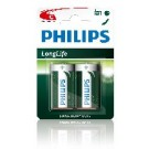 Batterie LONGLIFE 2er-Blister R14 (C)  - Philips