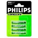 Batterie LONGLIFE 4er-Blister R03 (AAA)  - Philips