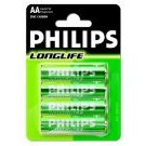 Batterie LONGLIFE 4er-Blister R6 (AA)  - Philips