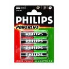 alkalische Batterie Powerlife 4er-Blister LR6 (AA)  - Philips